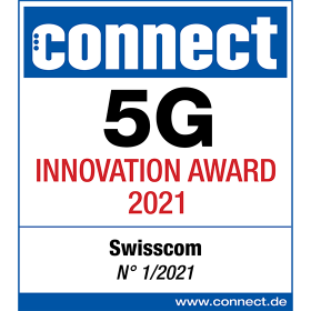 logo connect 5G prix de l'innovation