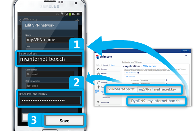 VPN Server on Android