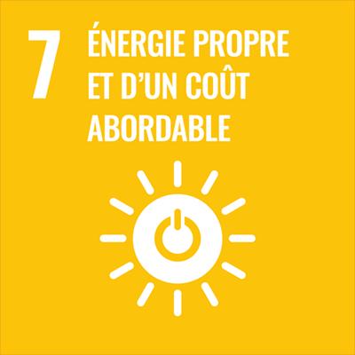 Logo énergie abordable et propre