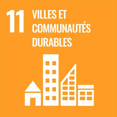 Logo villes et communautés durables