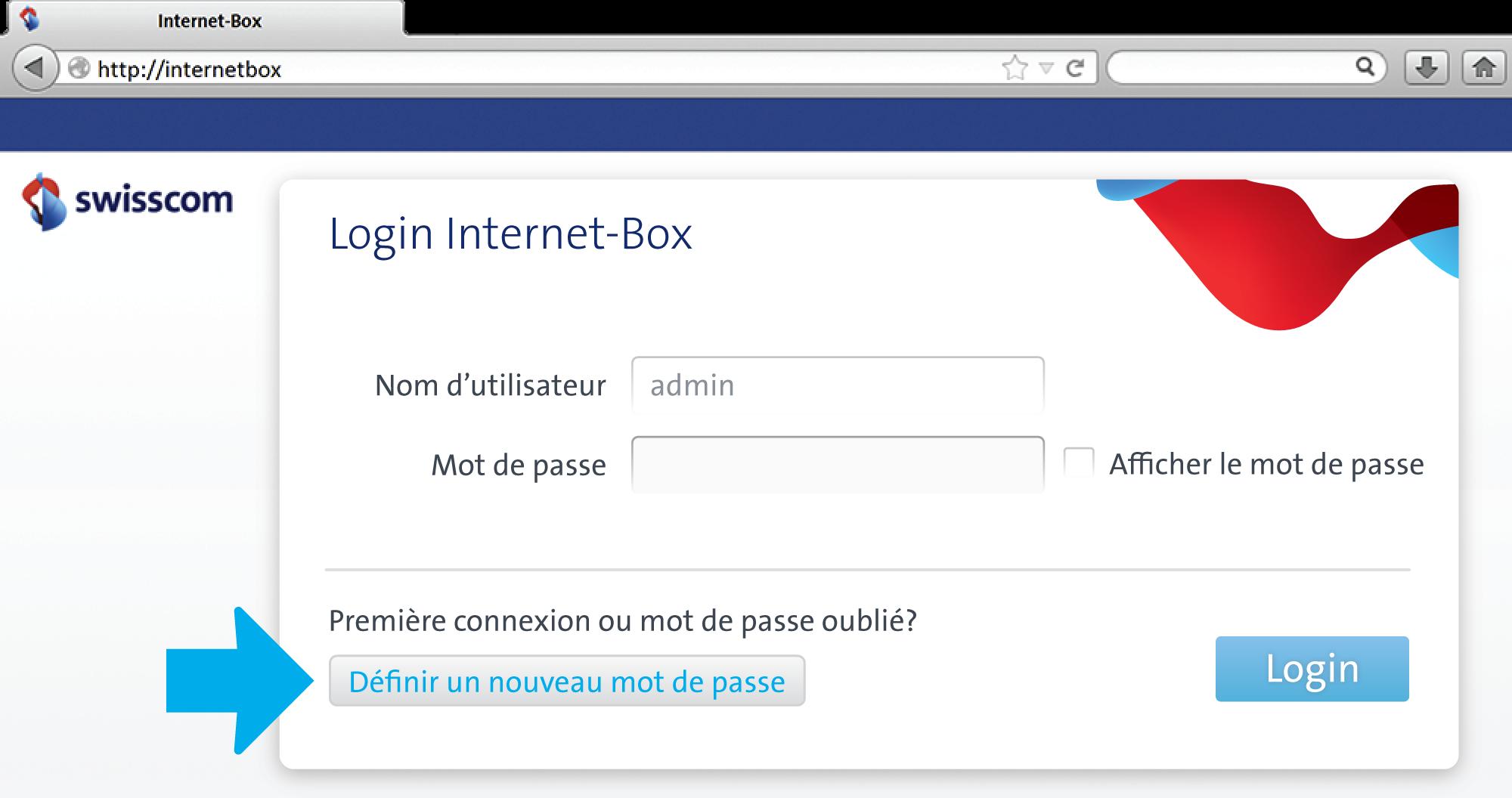 Mots de passe for Fenetre internet