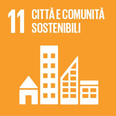 Logo città e comunità sostenibili