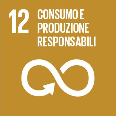Logo consumo e produzione sostenibili
