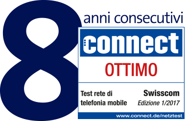 7 Jahre in Folge connect Testsieger