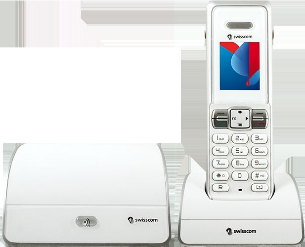 Swisscom HD-Phone Rousseau 310 (Festnetztelefon)