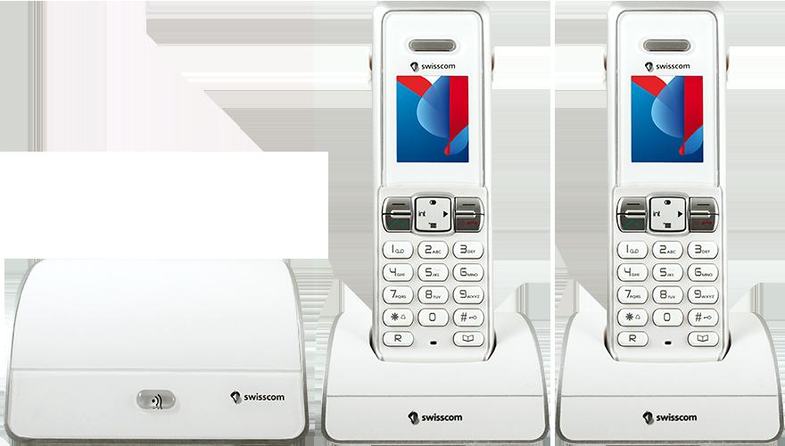 Swisscom HD-Phone Rousseau 300 duo (Festnetztelefon)